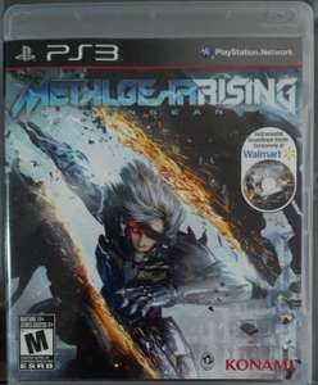 Game Planet Parque Delta: Metal Gear Rising: Revengeance, PS3
