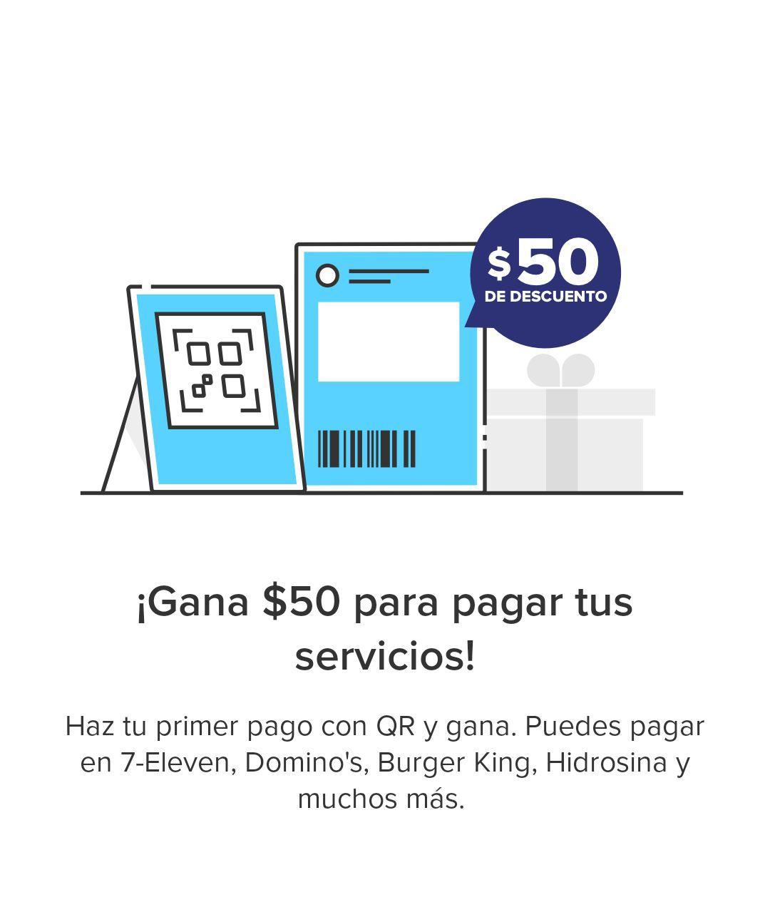 Mercado Pago: $50 de descuento en pagos de servicio a usuarios que hagan su primer pago con QR