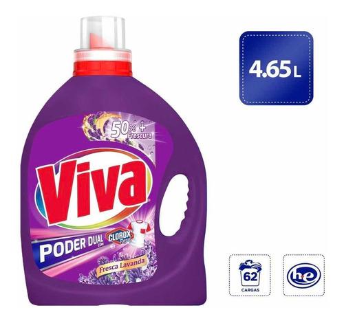 Amazon: Viva Poder Dual con Clorox, Lavanda 4.65L