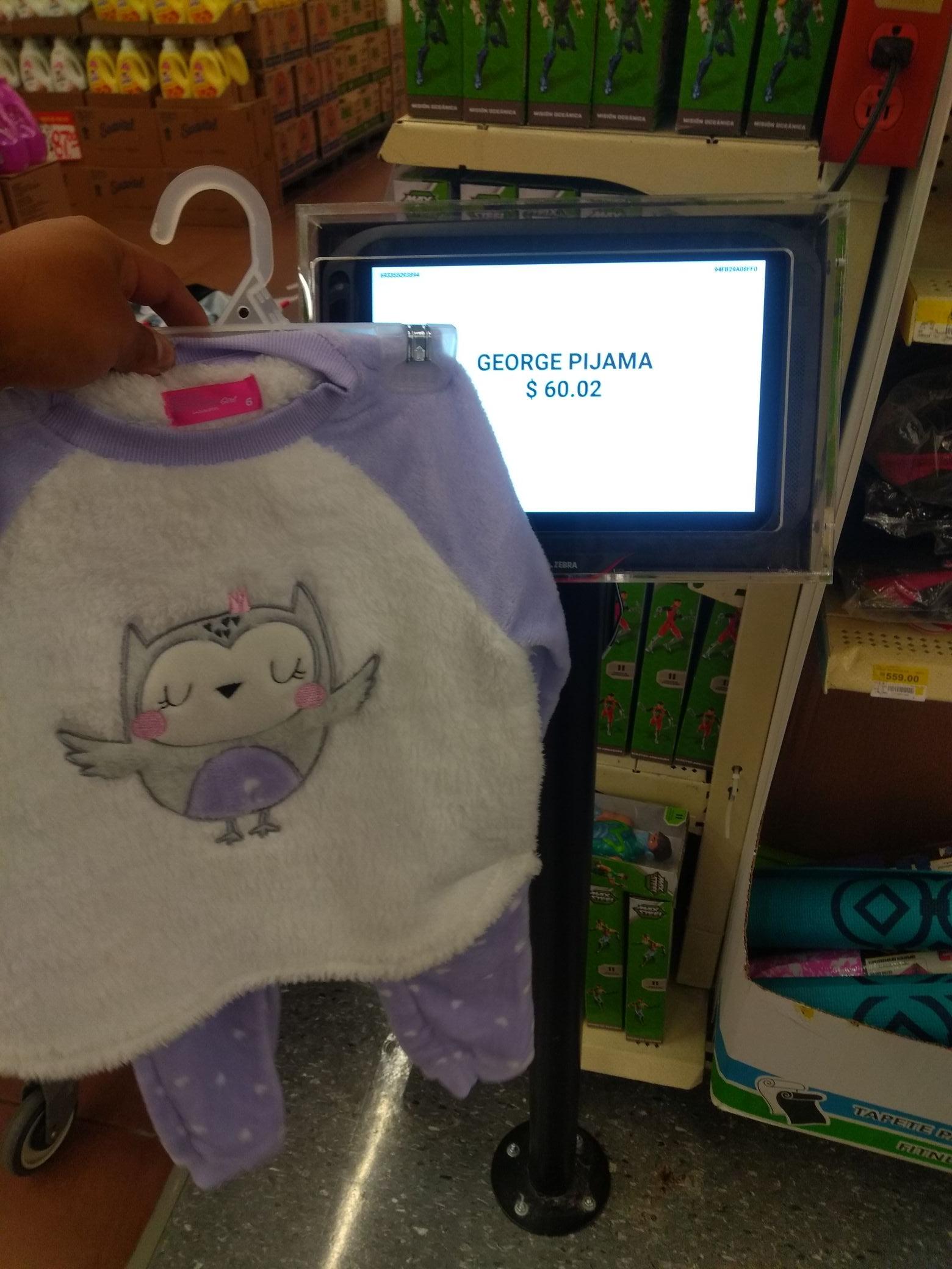Walmart Celaya: Pijamas niñ@
