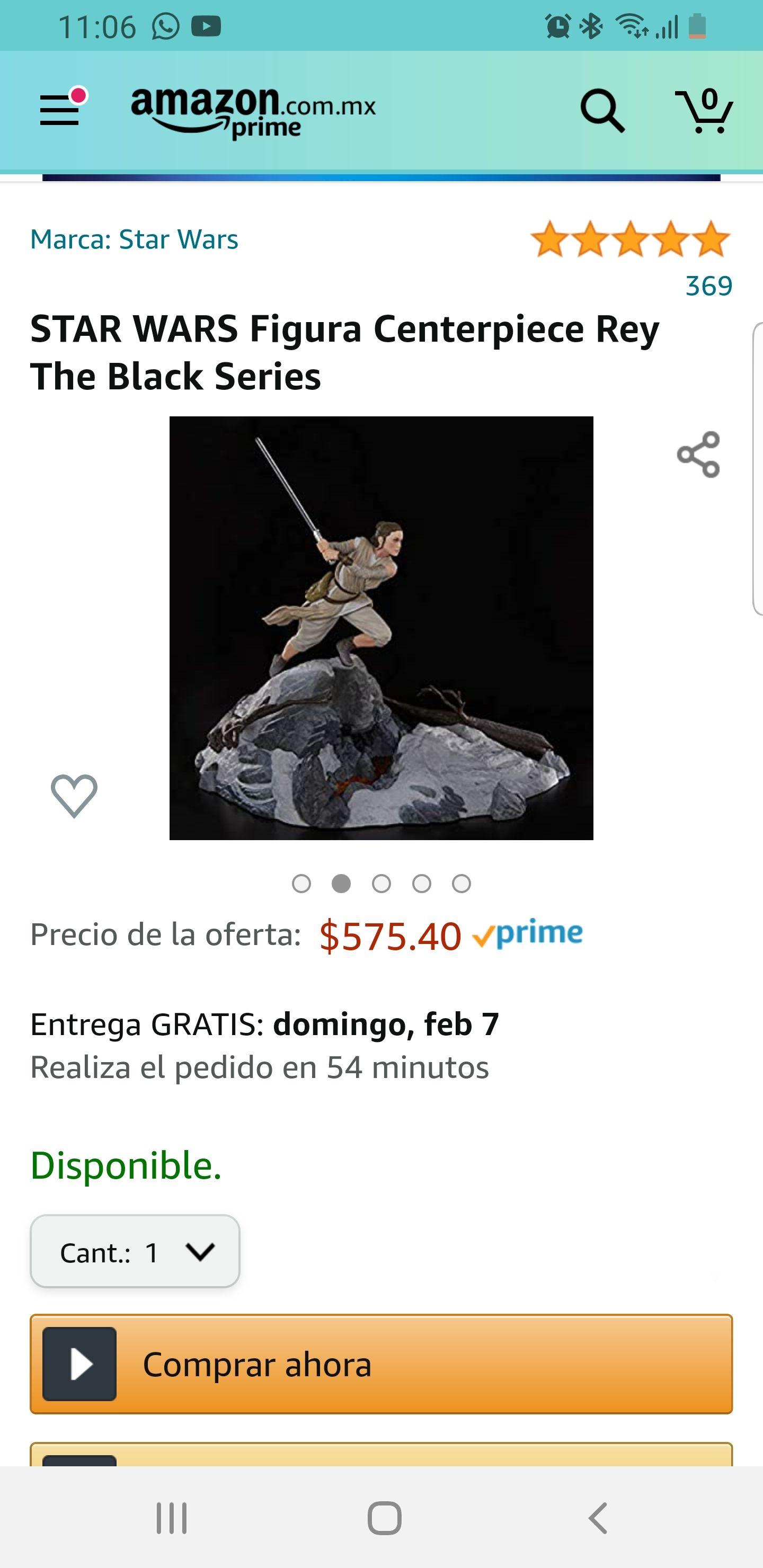 Amazon: Rey Centerpiece Black Series