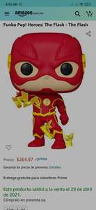 Amazon, Funko Pop! Heroes: The Flash - The Flash Funko Pop! Heroes: The Flash - The Flash