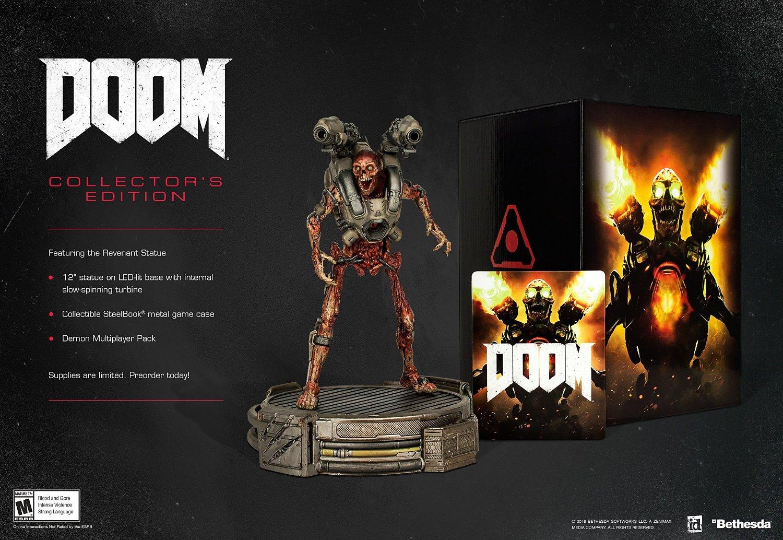 Amazon: Doom Collector's Edition (PS4, Xbox One)