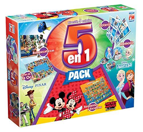 Amazon - Disney 5 en 1 Play House Game