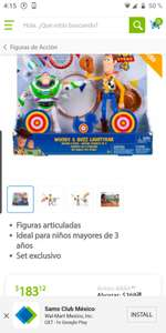 Sam's Club: Set buzz y woody