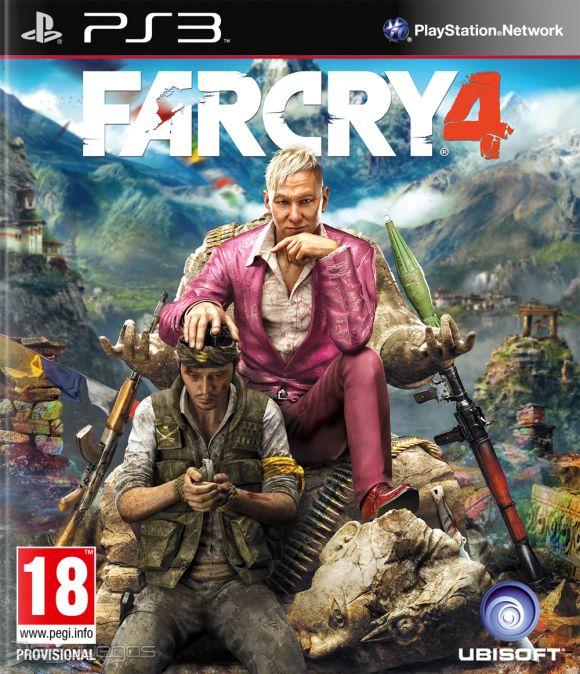 Amazon MX: Far Cry 4 para PS3 a $199.50