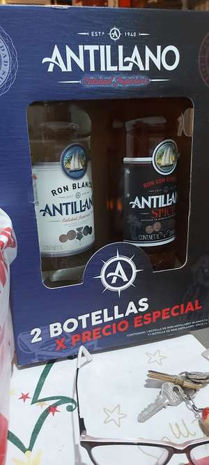 Waltmart uruapan. Ron antillano 2 botellas