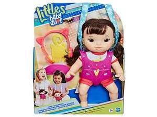 Suburbia. Muñeca Baby Alive Littles Iris con Cangurera