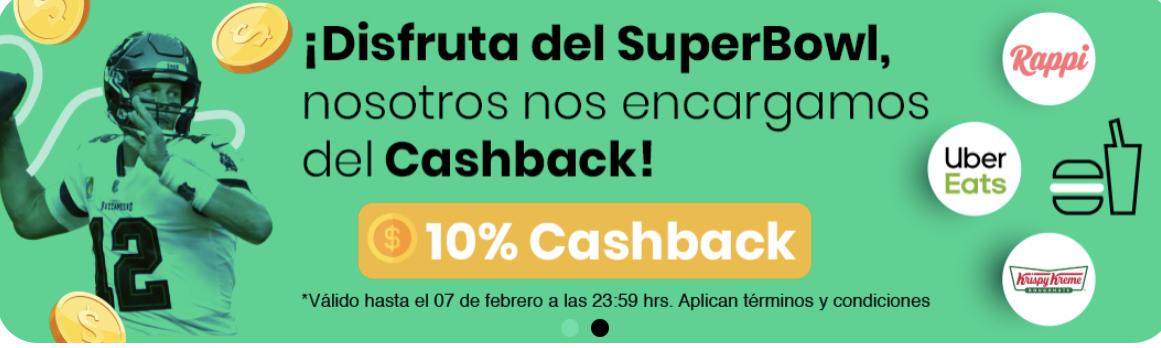 Hola Cash: 10% de cashback en Uber, Rappi y Krispy Kreme