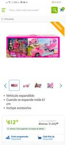 Sam's Club: barbie limosina y sus amigas