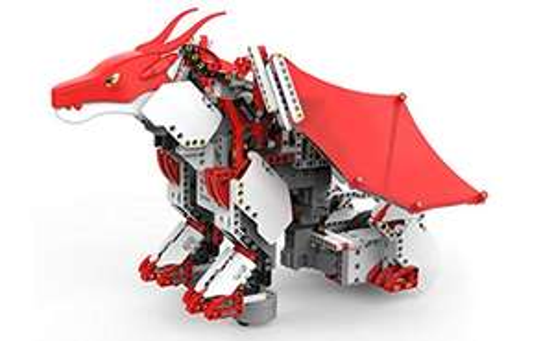 Amazon: Robot UBTECH JIMU Mythical Series: DragonBot Juguete STEM Programable