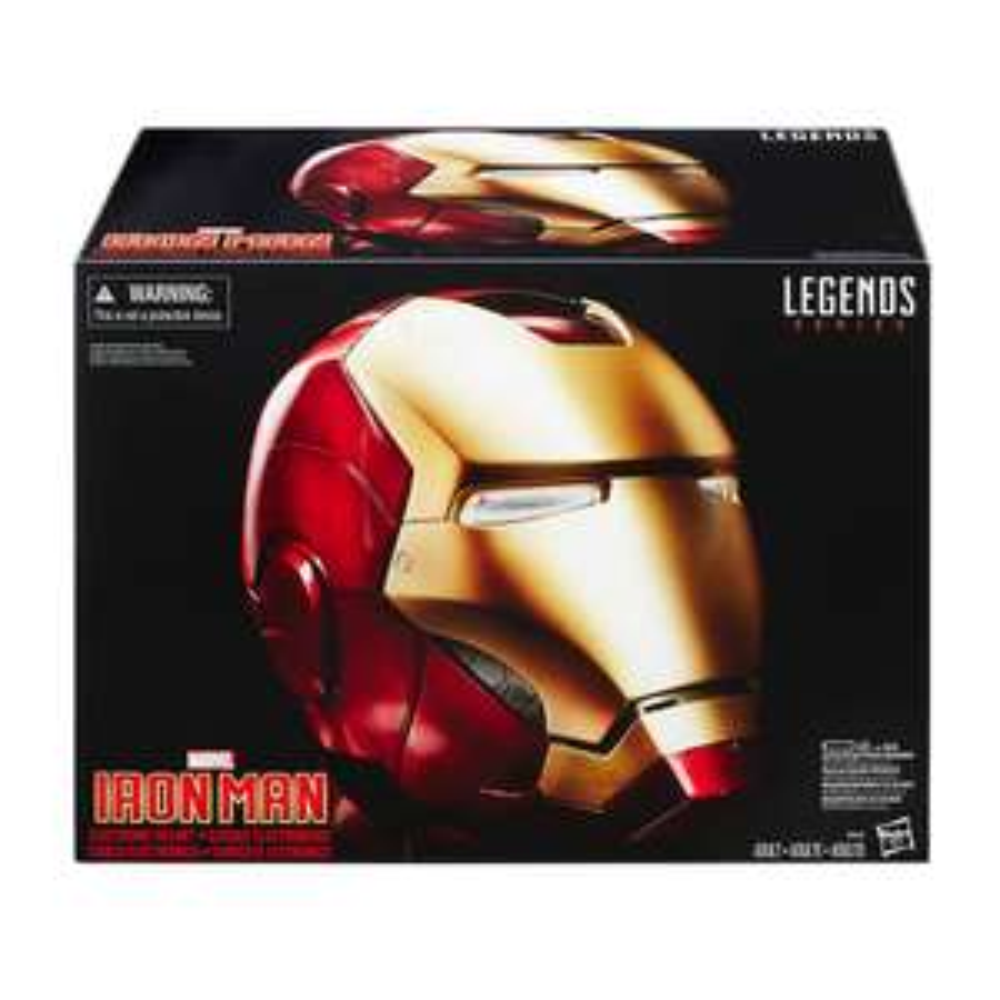 Walmart en línea: casco Electrónico de Iron Man Legends Series Marvel para coleccionistas