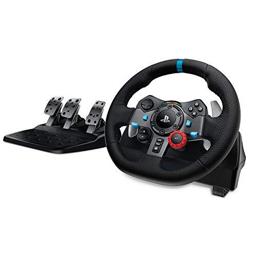 Amazon: Logitech G - G29 Driving Force - Volante para Simulador de Carreras para PS4 y PC - Negro