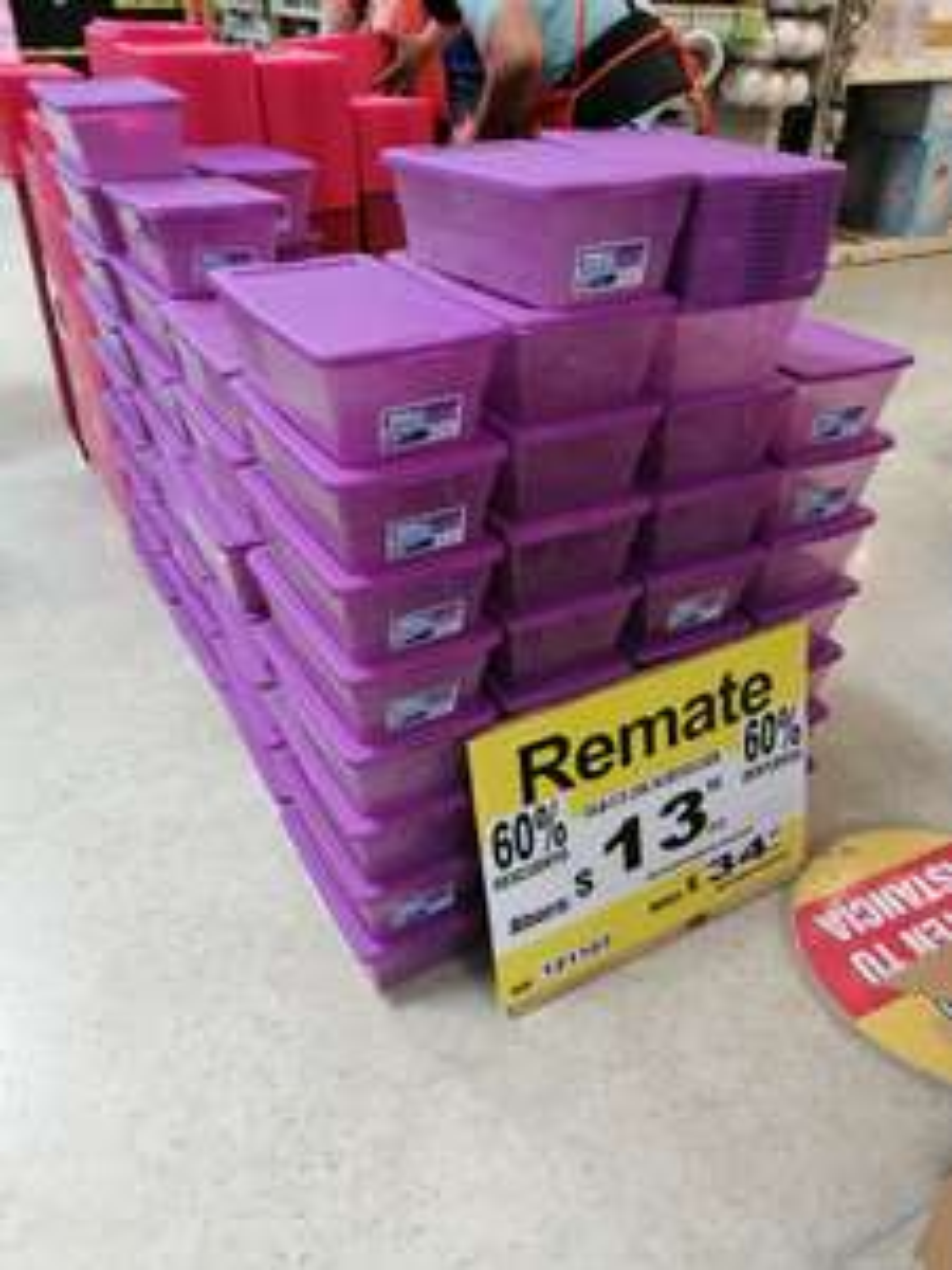 Home Depot: Caja Sterilite 5.7 litros en remate