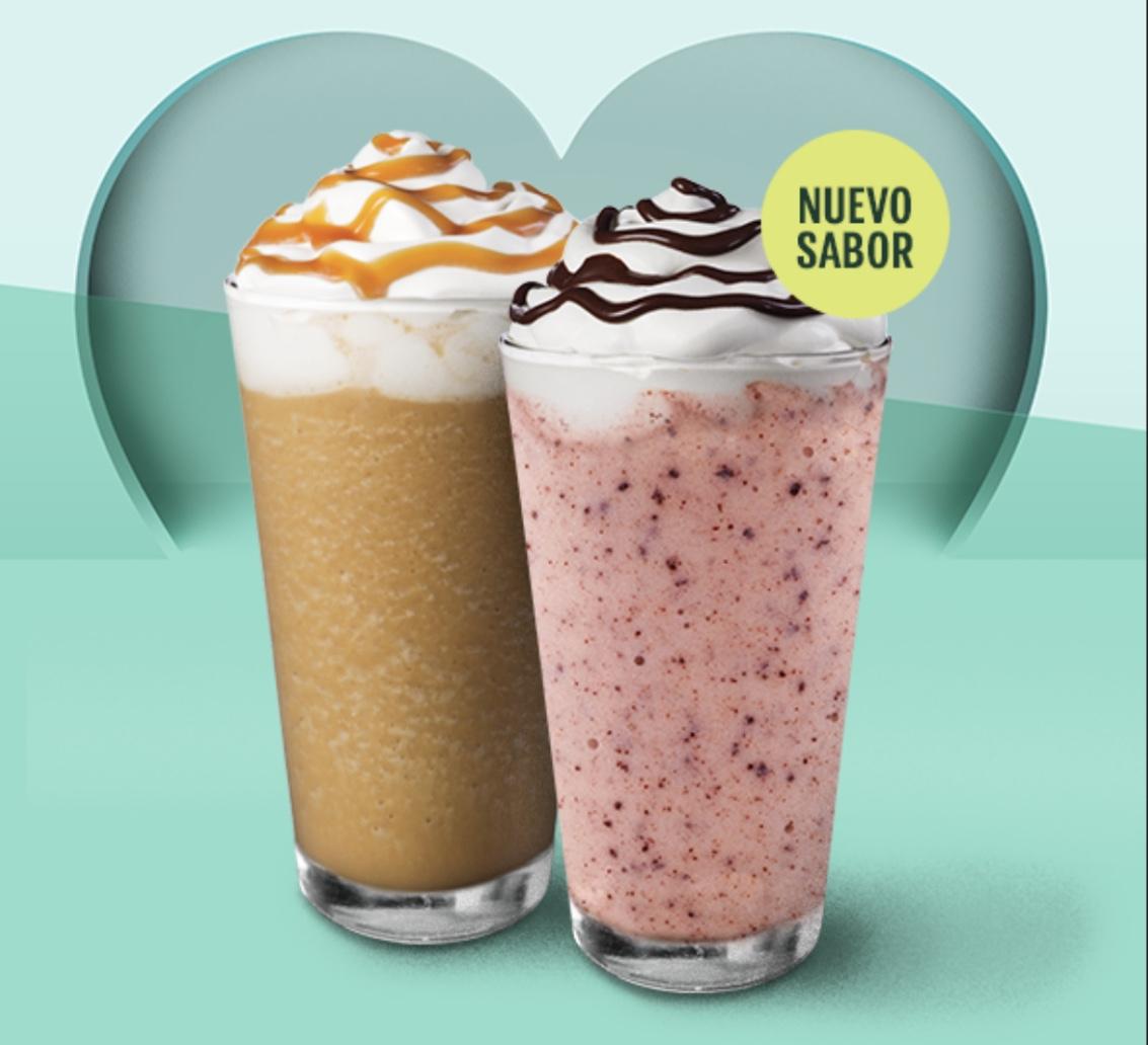 Starbucks Compra 2 Frappuccinos y obtén hasta 55 estrellas