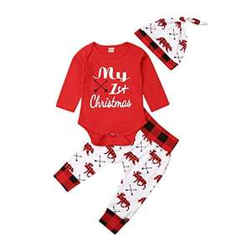 Amazon Ropa navideña bebé 12-18meses