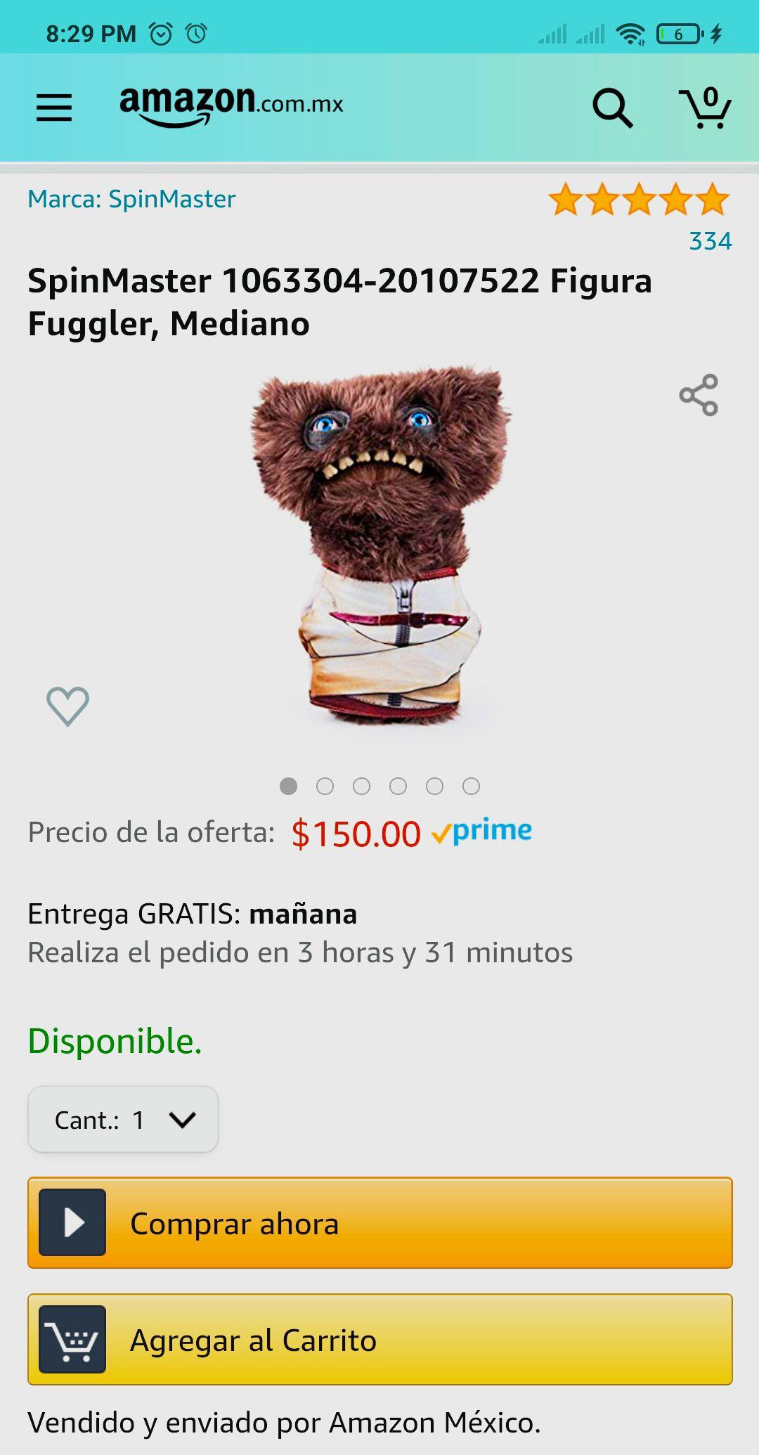 Amazon: Fuggler Mediano