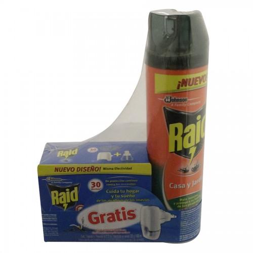 Chedraui Nezahualcóyotl: Raid casa y Jardín más nuevo líquido para mosquitos a $12.75