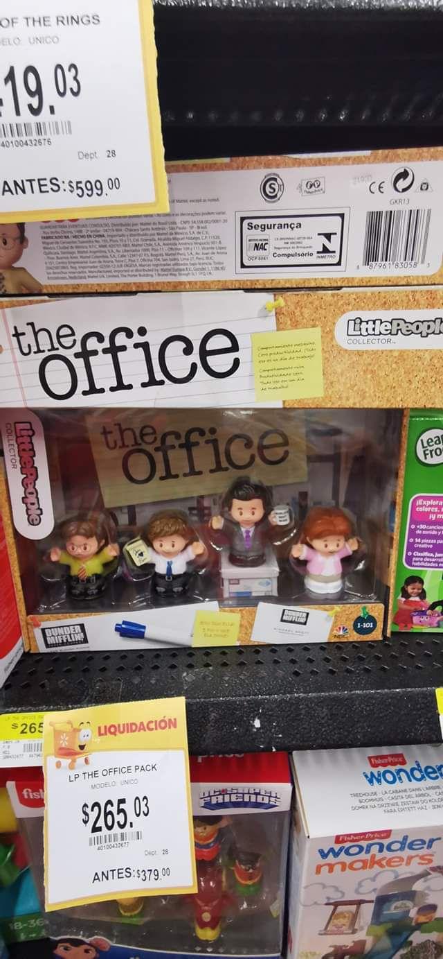 Walmart: The Office Little People