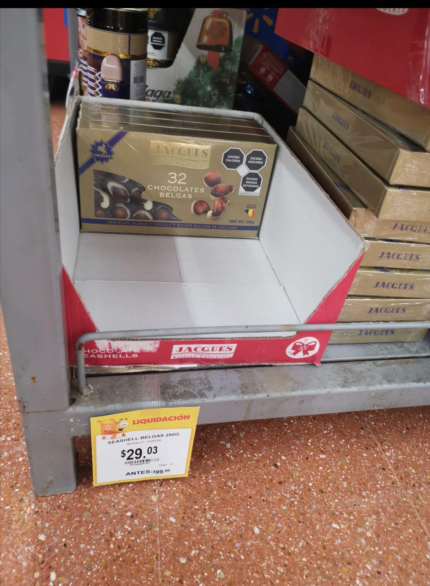 Walmart Acapulco diamante : Chocolates Jacques Premium 250g