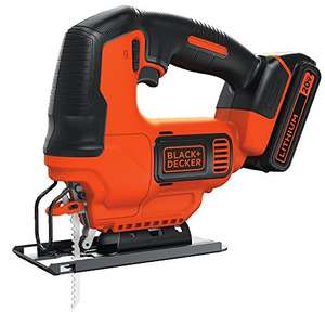 Amazon: Sierra Caladora Black + Decker inalámbrica 20V