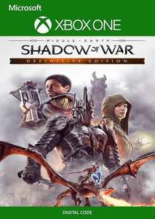 CDKeys (Xbox One/Xbox One X/PC): Shadow of War Definitive Edition VPN Brasil