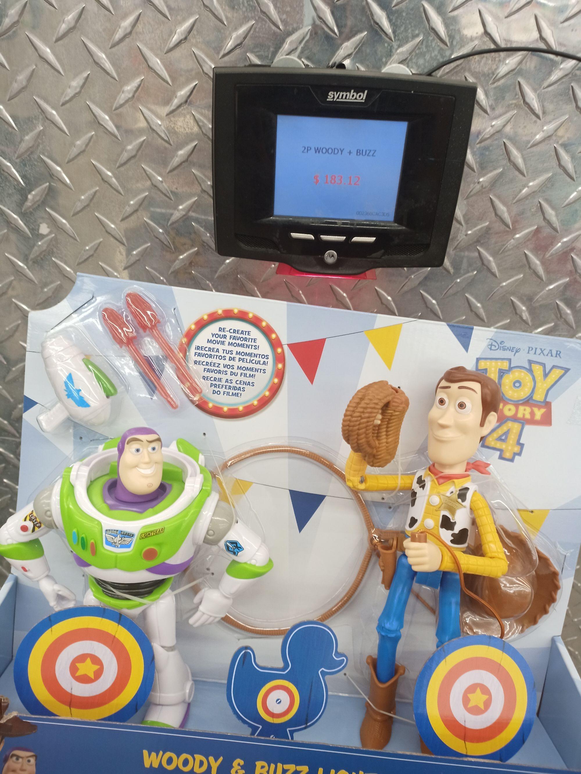 Sams club cuernavaca, juguete Buzz Lightyear más Woody