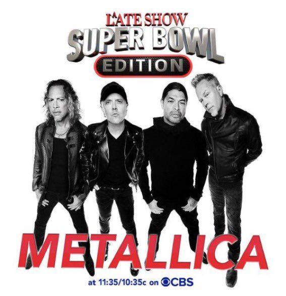 Concierto de Metallica gratis, cierra super bowl
