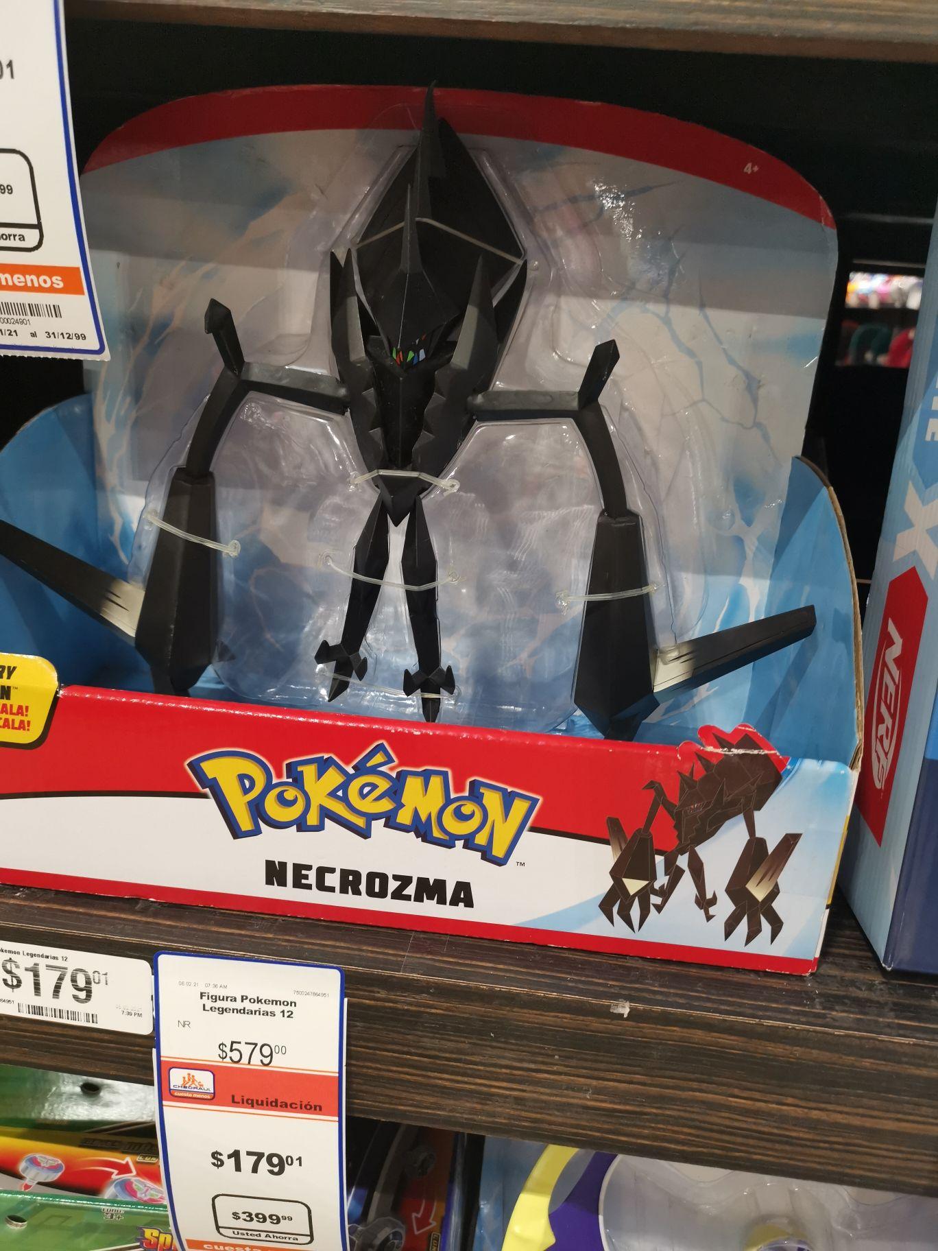 Chedraui selecto Acapulco diamante : Figuras legendary de Pokémon de $579 a $179 y otros juguetes