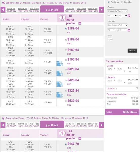 Volaris: viajes desde y hacia Estados Unidos desde $300 dólares redondo