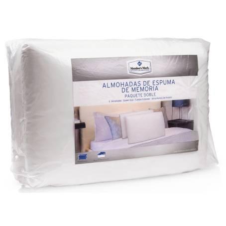 Sam's Club: 2 Almohadas Queen Memory Foam Merbers Mark