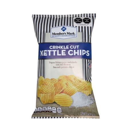 Sam's Papas fritas Sal de mar 750g