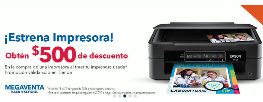 Best Buy: $500 pesos para comprar impresora al llevar tu impresora vieja