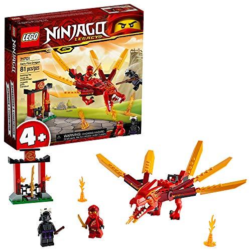 Amazon: LEGO NINJAGO Legacy 71701 Dragón de Fuego de Kai (81 piezas)