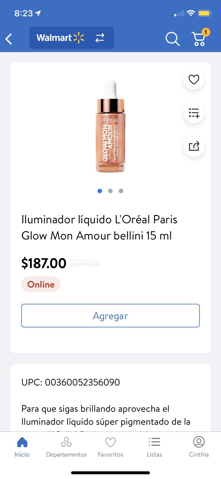 Walmart: Iluminadores L'Oréal