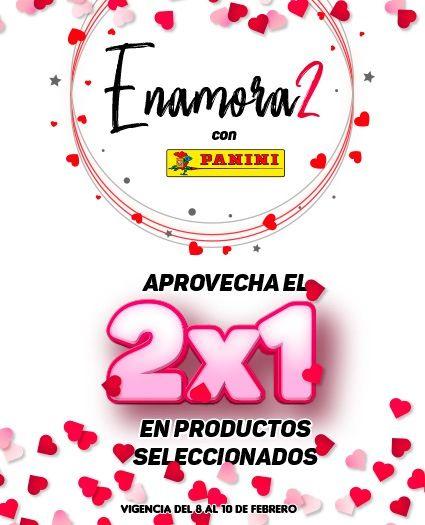 Tienda Panini: 2x1 productos seleccionados