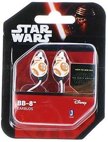 Amazon: Jazwares Disney BB-8 Earbuds / In-Ear Headphones, Star Wars: Episode VII The Force Awakens