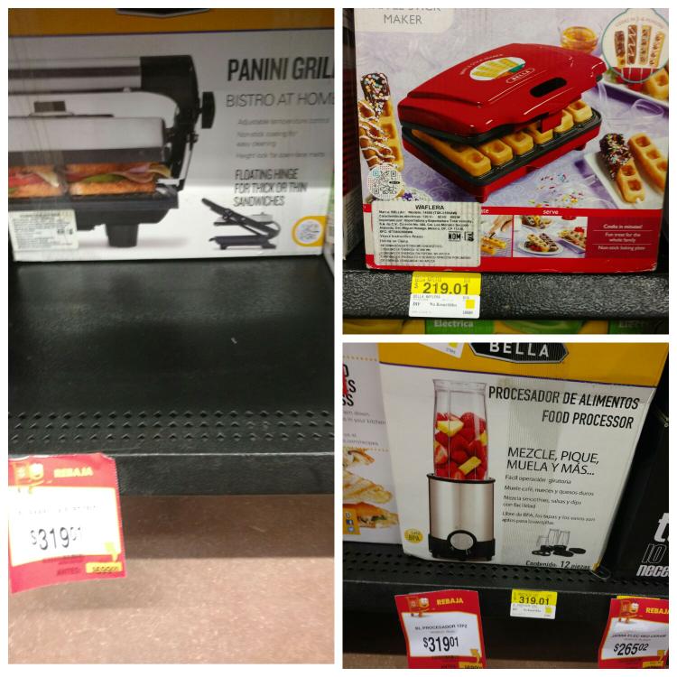Walmart Tuxtla: Procesadora Bella $319.01 y mas...