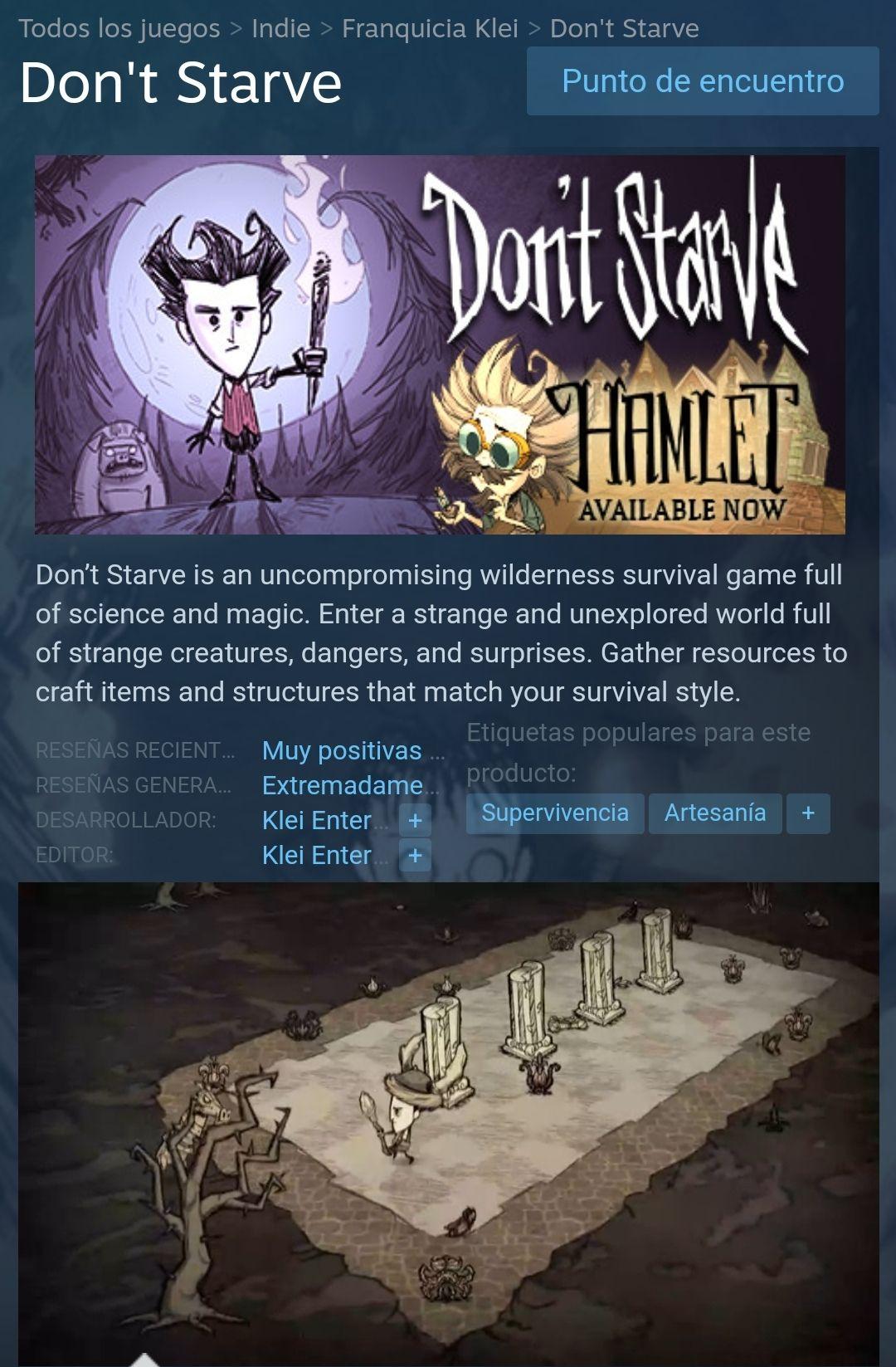 Steam: Dont Starve