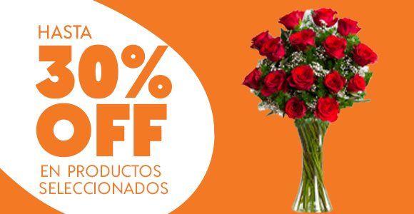 LolaFlora: DESCUENTO DE 30% EN ENVIO DE FLORES 8 Y 9 DE FEBREEO