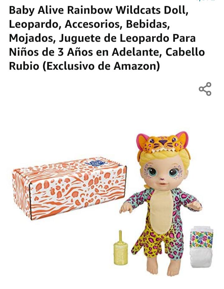 Amazon: Baby Alive Leopardo