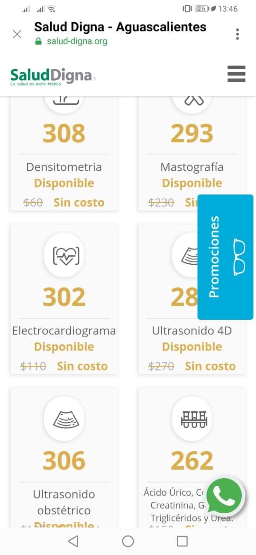 Estudios sin costo por inaguracion en Lab Salud Dign Aguascalientes