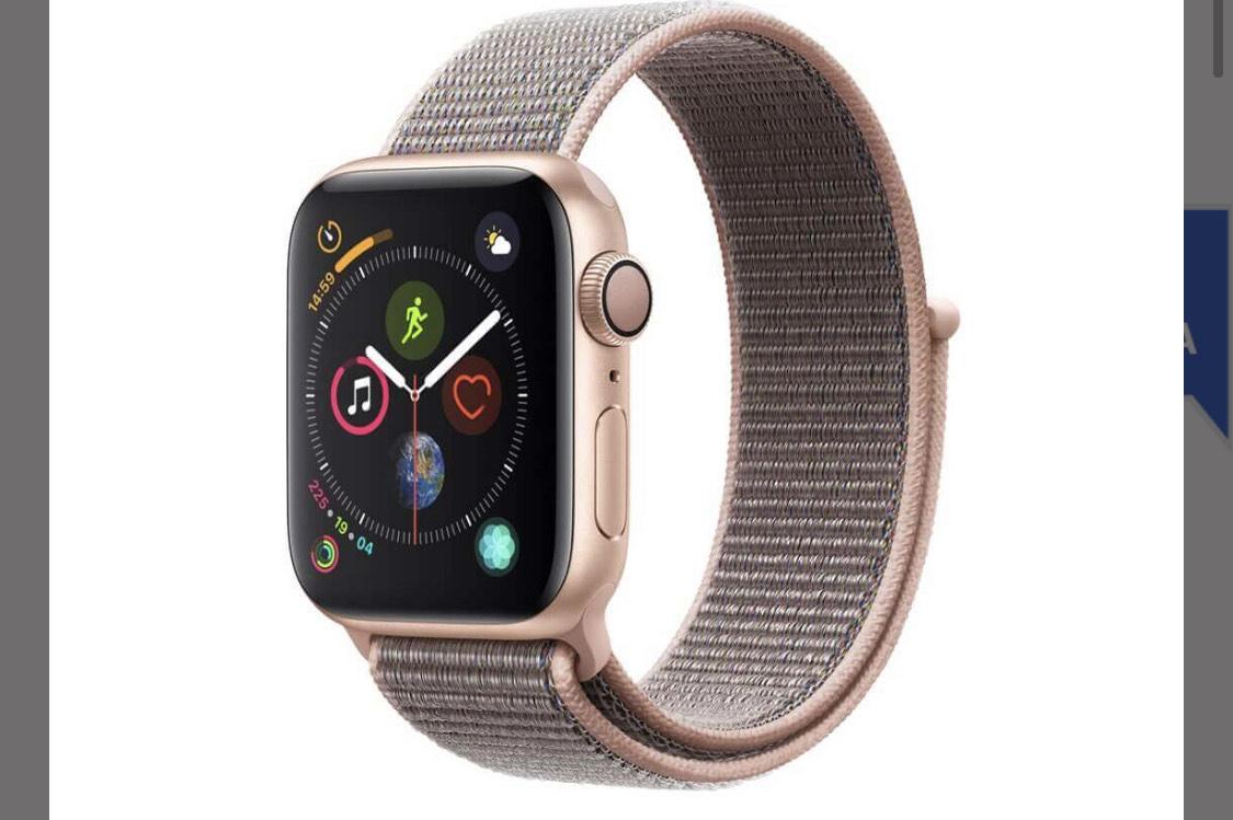 Best Buy: Apple Watch Series 4 (GPS) 40mm Caja de aluminio oro