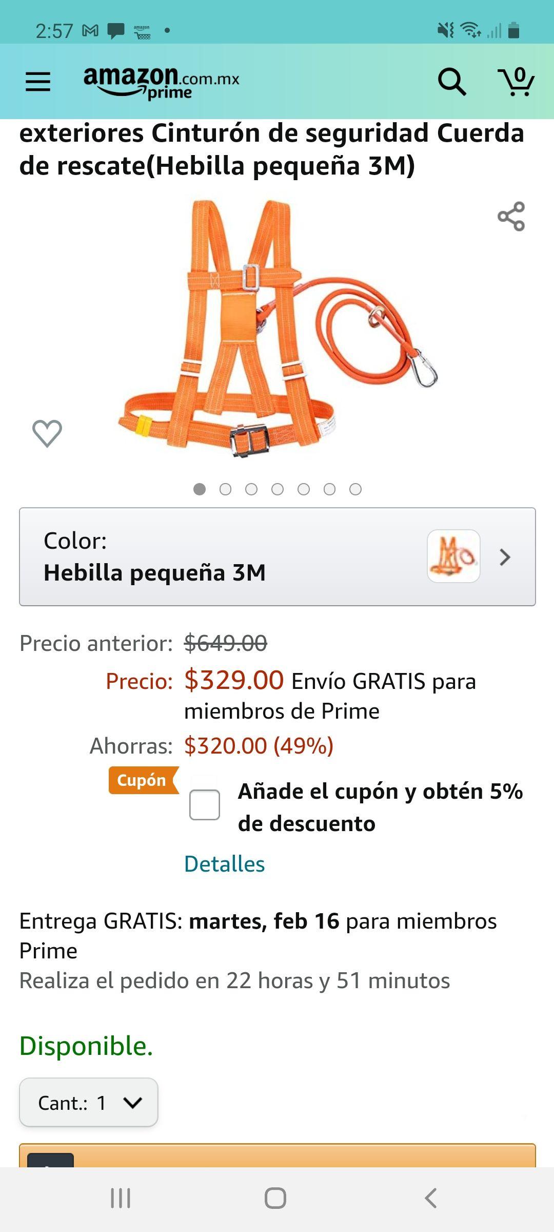 Amazon: Kits de arnés de seguridad, arnés de seguridad para la detención de caídas, 6 stypes Arnés de escalada ajustable