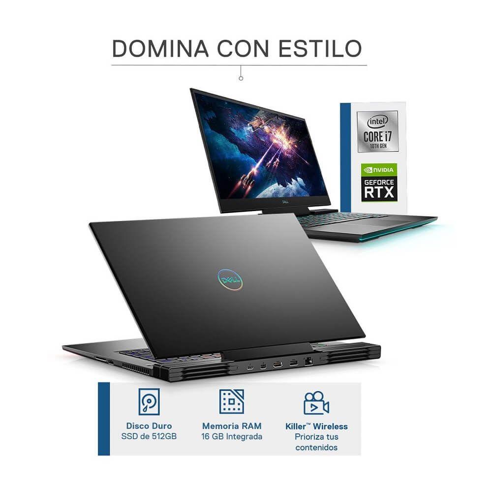 """Bestbuy - Dell - Laptop G7-7700 de 17.3"""" - NVIDIA RTX 2060 - Core i7 - Memoria 16GB - SSD 512GB"""