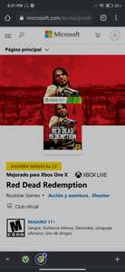 Xbox : Red Dead Redemption 1