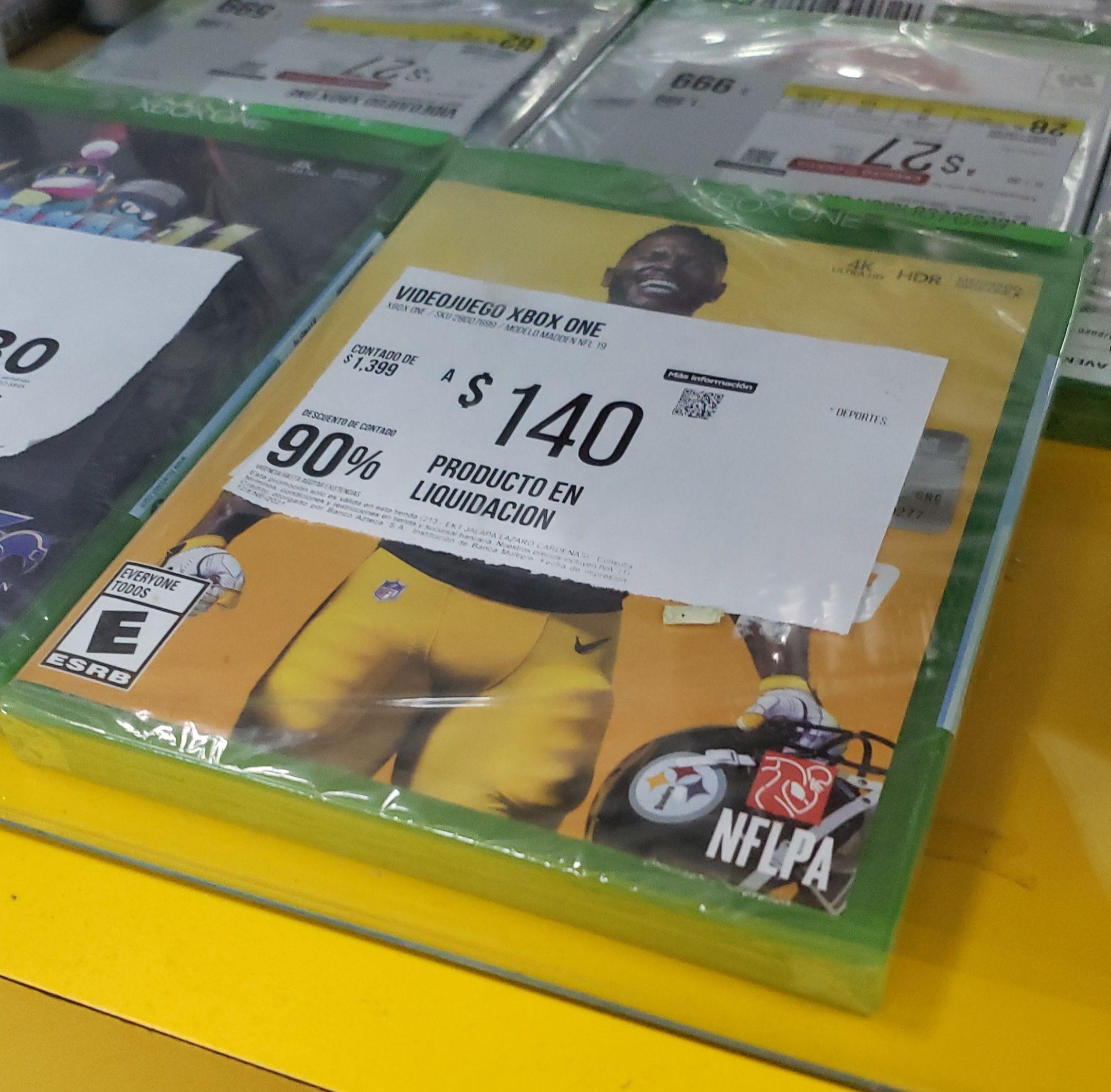 Elektra: Madden NFL 19 Xbox One