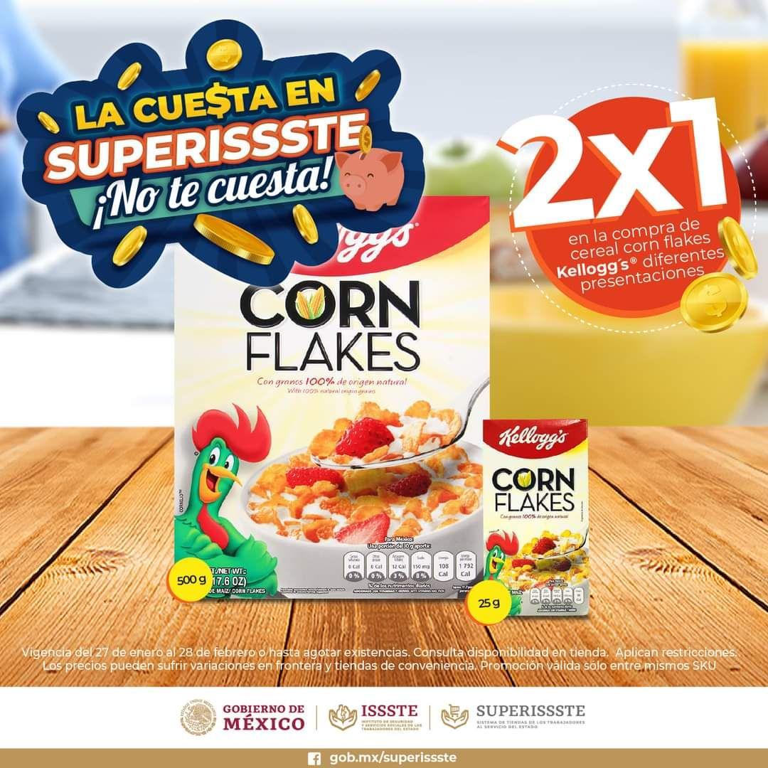 SuperISSSTE: 2 x 1 en diversos cereales