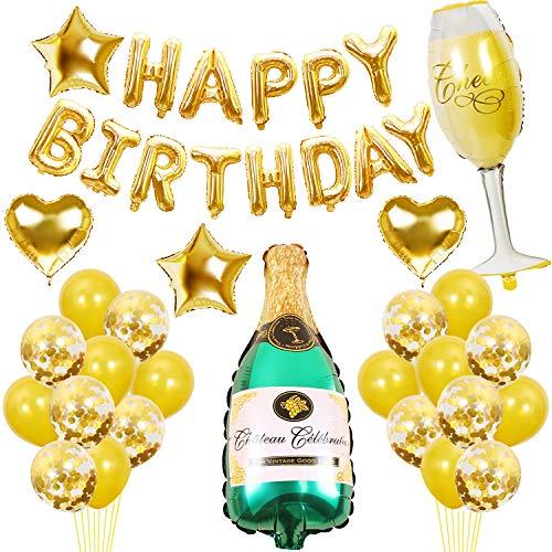 Amazon: globos de cumpleaños (letras y más globos)