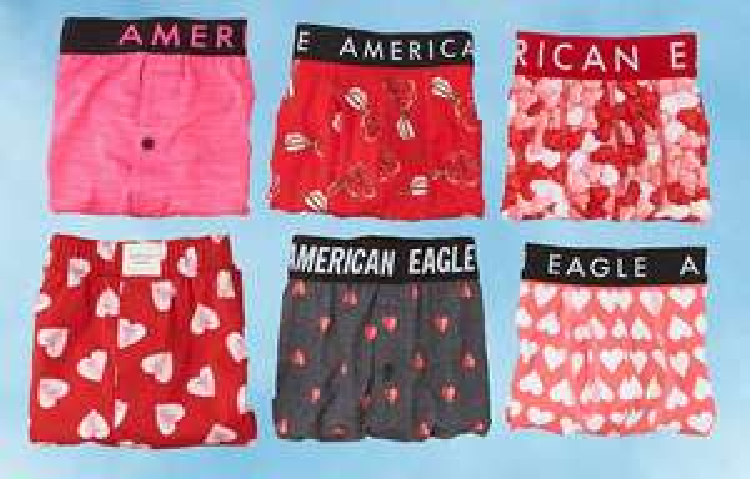 American Eagle: Ropa interior para hombres. 3 por $599